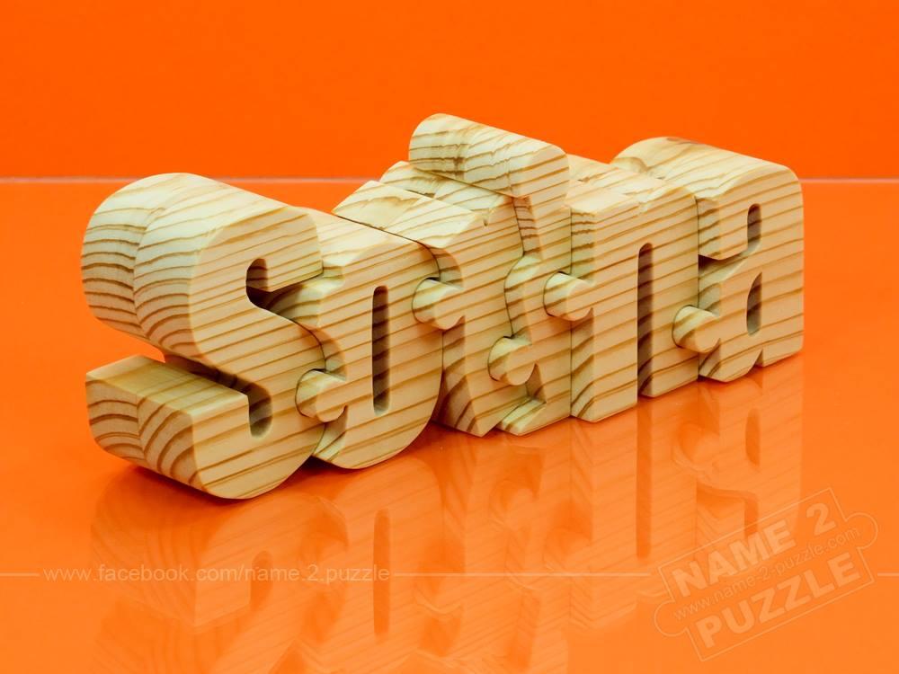 orange name puzzle