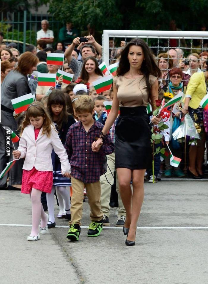 krasiva bulgarska uchitelka