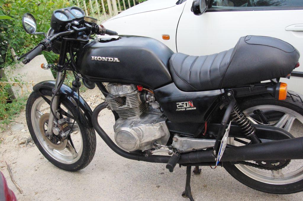 Cafe Racer Honda CB 250 N CB 400 N Bulgaria 1