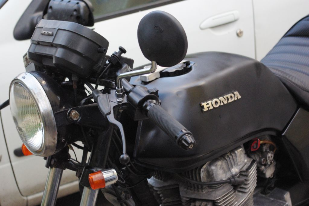Cafe Racer Honda CB 250 N CB 400 N Bulgaria 3