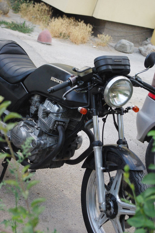 Cafe Racer Honda CB 250 N CB 400 N Bulgaria 5