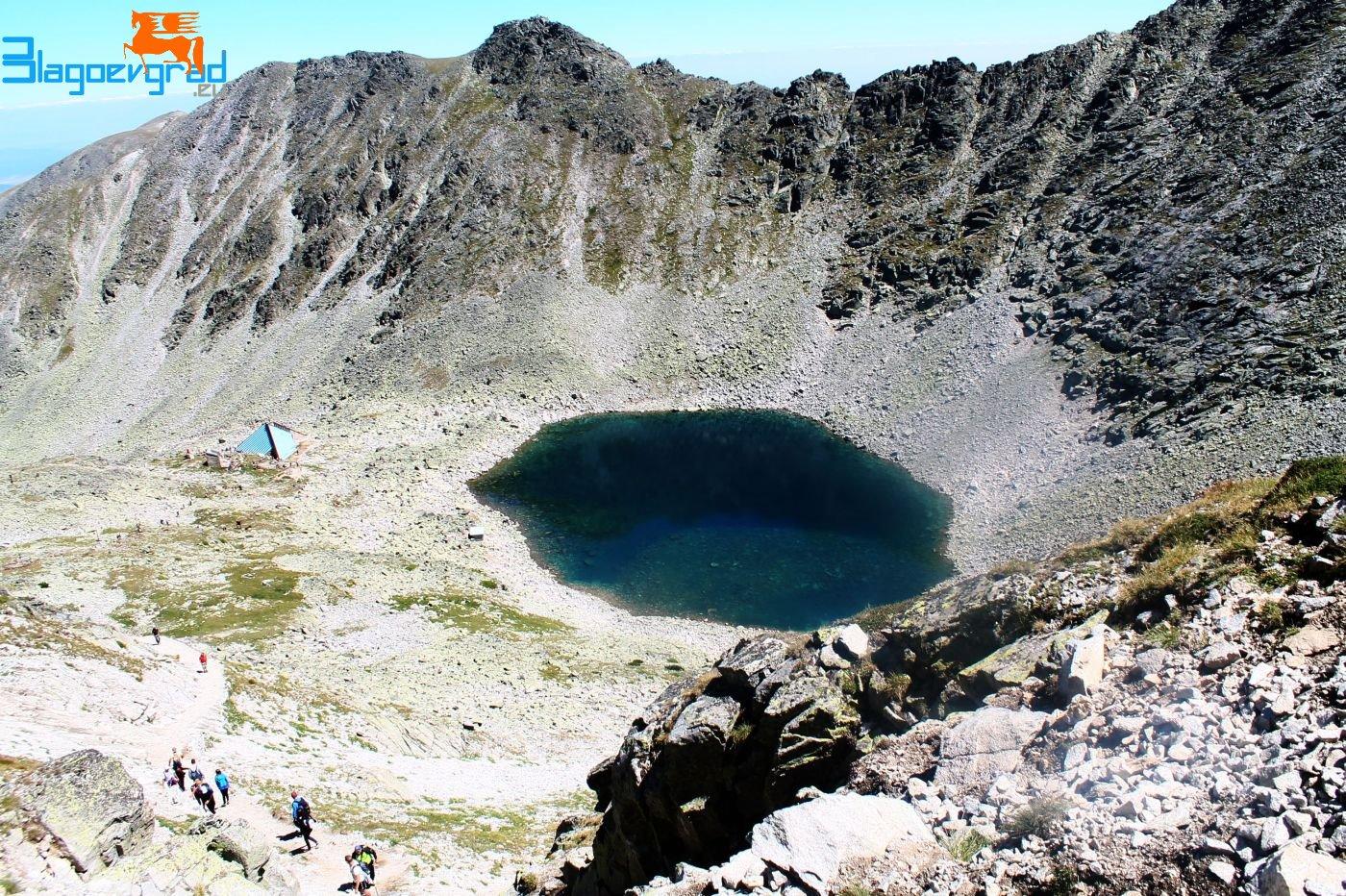 Леденото езеро - към връх Мусала Glacial lake