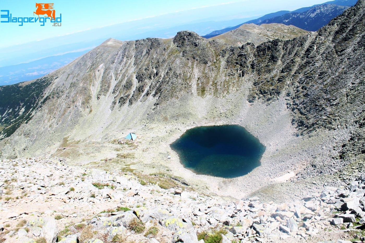 Леденото езеро - към връх Мусала Musala Peak Glacial lake